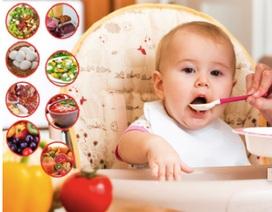 Những thực phẩm lý tưởng cho bé giai đoạn cai sữa mẹ