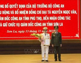 Phó Giám đốc Công an Phú Thọ được bổ nhiệm làm Giám đốc Công an Sơn La