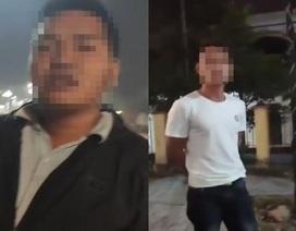 """2 """"người lạ"""" bắt dân xóa clip quay CSGT không phải tiếp thị sữa (!)"""