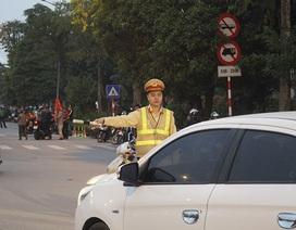 An ninh thắt chặt trước trận đấu tuyển Việt Nam gặp UAE ở Mỹ Đình