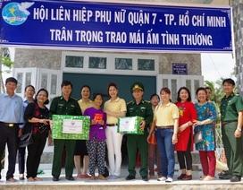 Bộ đội Biên phòng góp tiền, góp công xây nhà cho người nghèo