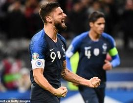 Thắng nhẹ Moldova, tuyển Pháp nhận vé dự Euro 2020