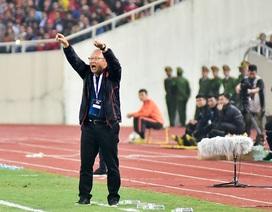 Những cung bậc cảm xúc của HLV Park Hang Seo trong trận đấu với UAE