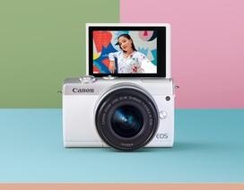 Canon trình làng máy ảnh không gương lật EOS M200 tại Việt Nam, giá từ 15,9 triệu đồng