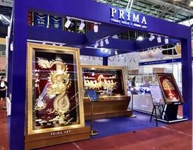 Tinh hoa nghệ thuật vàng Prima tại hội chợ quốc tế trang sức Việt Nam 2019