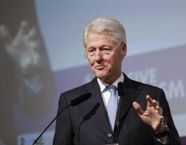 Ông Clinton khuyên Tổng thống Trump giữa lùm xùm điều tra luận tội