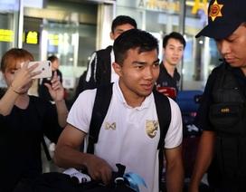 Đội tuyển Thái Lan đổ bộ Hà Nội, háo hức chờ quyết đấu ở Mỹ Đình
