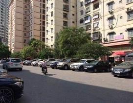 """Cấm để xe dưới hầm chung cư, Hà Nội, TP.HCM """"vỡ trận"""" bãi gửi xe?"""