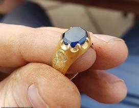 Tìm thấy chiếc nhẫn trị giá 1,5 tỷ đồng trong khu rừng của Robin Hood