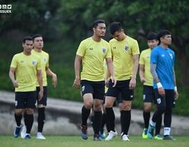 Thái Lan hăng say tập luyện trước trận đại chiến gặp tuyển Việt Nam