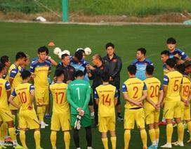 HLV Park Hang Seo lộ vẻ lo lắng trước trận gặp Thái Lan