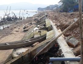Chủ tịch Bình Định chỉ đạo khắc phục kè sông gần 12 tỷ tan nát