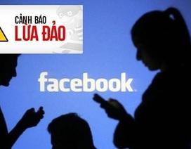 """""""Thủ thuật"""" lừa đảo tiền của người sử dụng Facebook"""