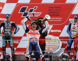 Marquez về nhất chặng, giúp Repsol Honda Team vô địch thế giới