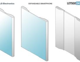 Lộ ý tưởng smartphone có khả năng biến hóa thành máy tính bảng độc đáo của LG