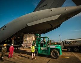 """Australia điều """"ngựa thồ"""" C-17 chở bệnh viện dã chiến Việt Nam đến Nam Sudan"""