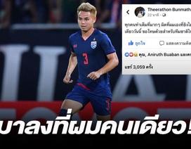 Đá hỏng phạt đền, ngôi sao Thái Lan cúi đầu xin lỗi