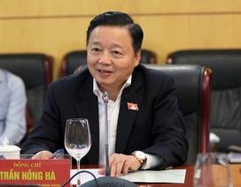 Bộ trưởng Trần Hồng Hà: Thường xuyên giám sát các dự án nhiệt điện Vĩnh Tân