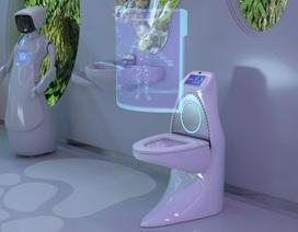 """Bồn cầu của tương lai: Biết tiện thể kiểm tra sức khỏe luôn cho người đang """"giải tỏa"""""""