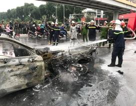 Xác định danh tính các nạn nhân trong vụ xe Mercedes gây tai nạn kinh hoàng