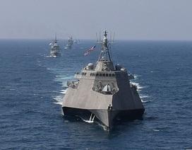Mỹ điều hai tàu hải quân tăng cường sức mạnh tại Biển Đông