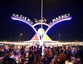 Chợ đêm đông nghẹt du khách, khu đô thị mới Hà Tiên đội giá tăng mạnh