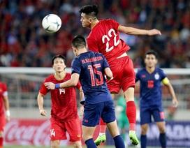 Đội tuyển Việt Nam bắt đầu bộc lộ nhược điểm từ trận đấu với Thái Lan