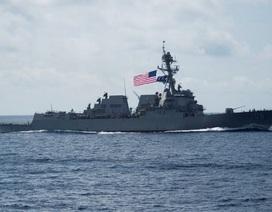 Tàu chiến Mỹ liên tiếp áp sát khu vực Trung Quốc chiếm đóng trái phép tại Biển Đông