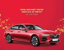 Vincom tặng xe Vinfast Lux A2.0 trị giá hơn 1 tỷ đồng mừng 15 năm thành lập