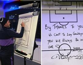 Xúc động với lời nhắn HLV Pochettino để lại trước khi rời Tottenham