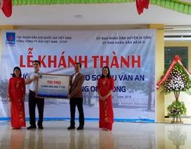 PVN và PV GAS tài trợ xây dựng trường học tại Gia Lai