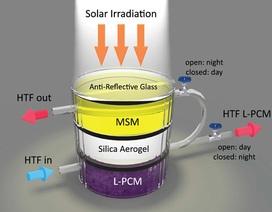 Thiết bị lai mới có thể vừa thu và lưu trữ năng lượng mặt trời