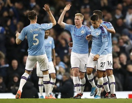 Man City 2-1 Chelsea: De Bruyne, Mahrez tỏa sáng
