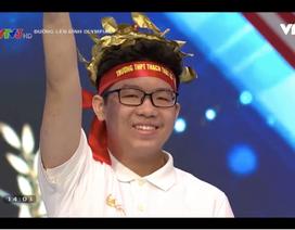 Nam sinh Hà Nội bứt phá, giành vòng nguyệt quế vòng thi tuần Olympia