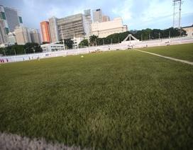 Sân vận động tổ chức môn bóng đá nam vẫn ngổn ngang trước SEA Games 30