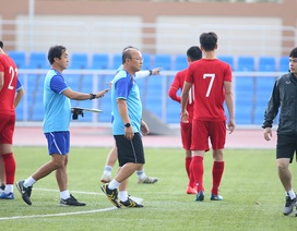 """HLV Park Hang Seo lý giải việc cầu thủ U22 Việt Nam """"chê"""" áo số 10"""