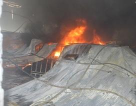 Cháy lớn ở công ty may Sóc Trăng, hàng chục nghìn mét vuông nhà xưởng bị thiêu rụi