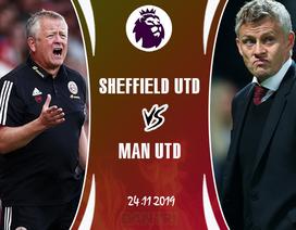 """Đang khiến """"Big Six"""" khiếp sợ, Sheffield Utd sẽ hạ gục được Man Utd?"""