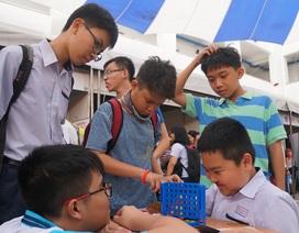 TPHCM: Gần 5.000 học sinh tham gia ngày hội Toán học mở 2019