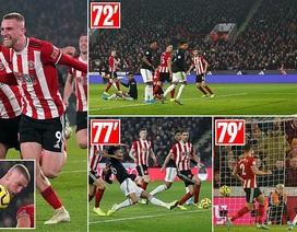 """Sheffield United 3-3 Man Utd: Bảy phút kỳ lạ của """"Quỷ đỏ"""""""