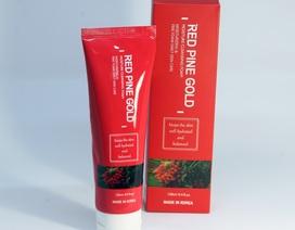 Sữa rửa mặt tinh dầu thông đỏ Red Pine Gold đã có mặt tại Việt Nam