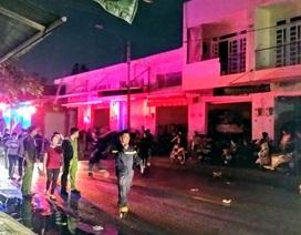 Cháy lớn tại khu kinh doanh vải ở TPHCM