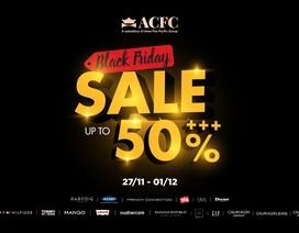 """Điểm danh các thương hiệu """"khủng"""" giảm giá mạnh dịp Black Friday"""
