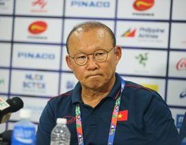 """HLV Park Hang Seo: """"Thắng đậm Brunei chưa có gì phải vui mừng"""""""