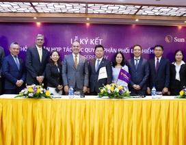 TPBank ký kết hợp đồng bảo hiểm độc quyền với Sun Life Việt Nam