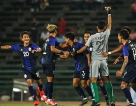 U22 Campuchia suýt tạo nên bất ngờ trước U22 Philippines ở SEA Games