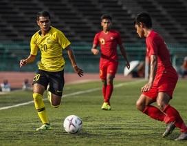 U22 Malaysia 1-1 U22 Myanmar: Hài lòng với 1 điểm