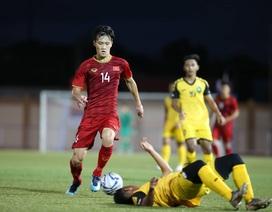U22 Việt Nam thắng đậm Brunei: Tự tin trước chặng đường phía trước