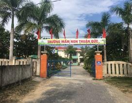 """Quảng Bình: Yêu cầu báo cáo vụ nhà trường """"bắt tay"""" Hội phụ huynh làm công trình xã hội hóa"""