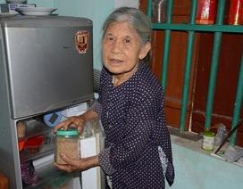 """Cụ bà tuổi 90 tuổi """"thèm"""" bữa cơm có thịt bật khóc khi được tặng tủ lạnh chứa đầy thức ăn"""